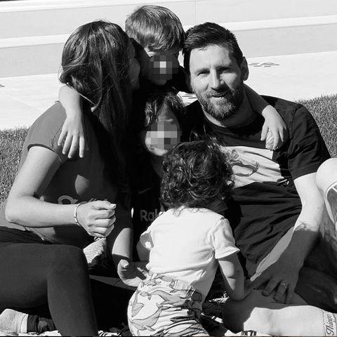 Antonela Rocuzzo, Leo Messi, Messi hijos, Messi y Antonela