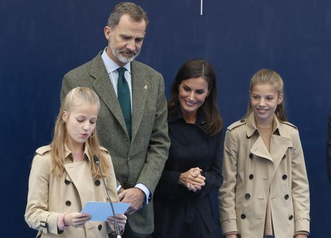Princesa Leonor, Asiego Asturias, Premios princesa de Asturias, Pueblo ejemplar Asturias 2019, Familia Real Asturias, Oviedo