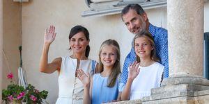 Familia Real visita Casa Museo Son Marroig
