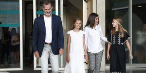 Los Reyes y sus hijas