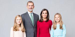 Nuevo retrato oficial de la familia real