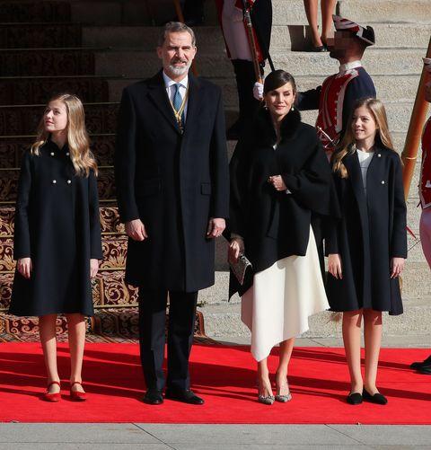 La Familia Real preside la apertura de la XIV Legislatura