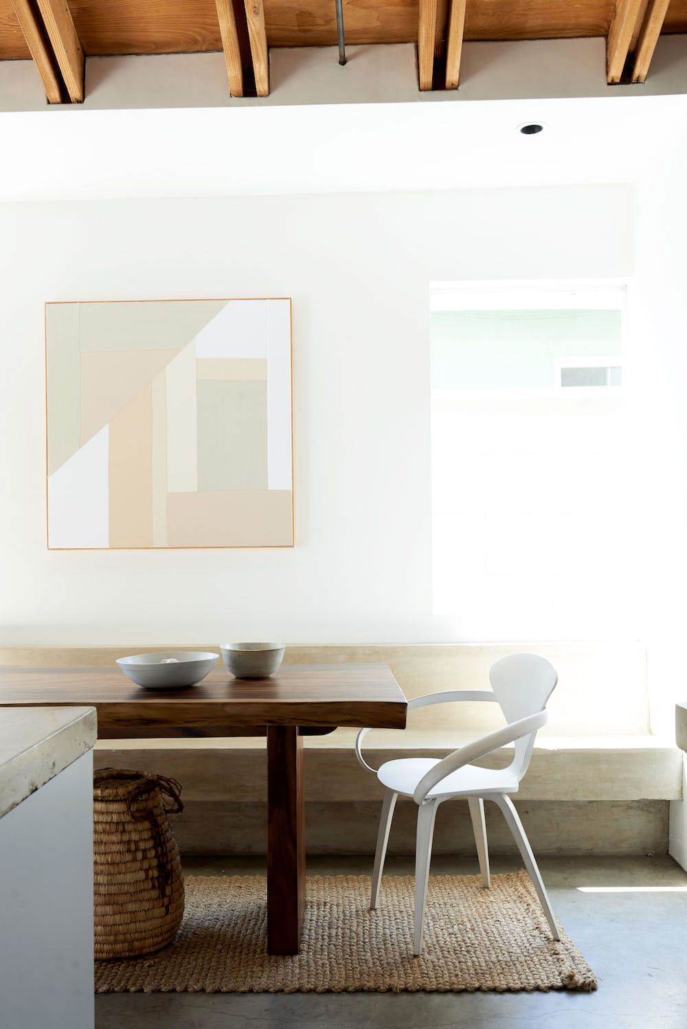 Industrial dining room style
