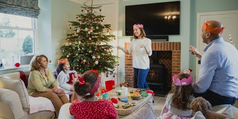 family christmas games charades