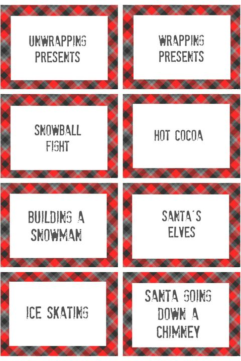 Christmas Charades.30 Best Family Christmas Games Activities Games For