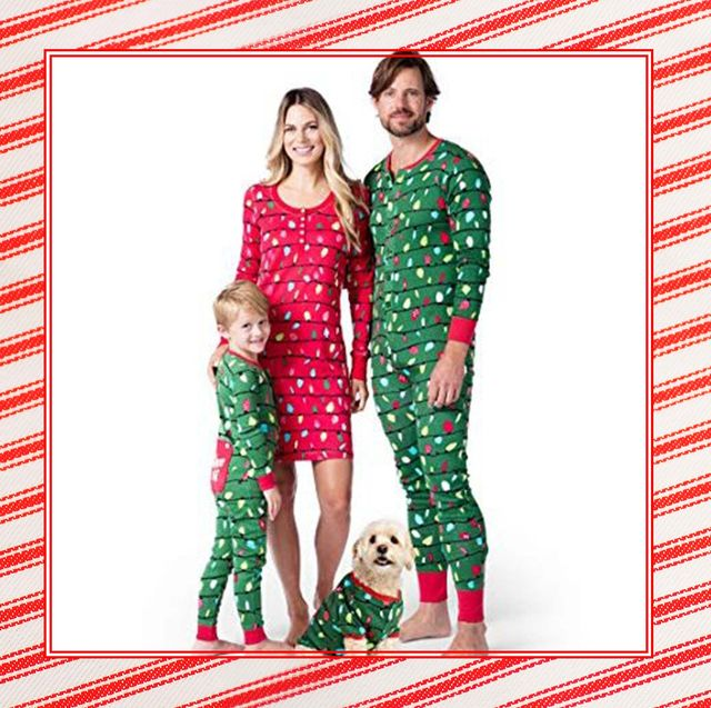 Christmas Jammies 2019 36 Best Matching Family Christmas Pajamas   Funny and Cheap