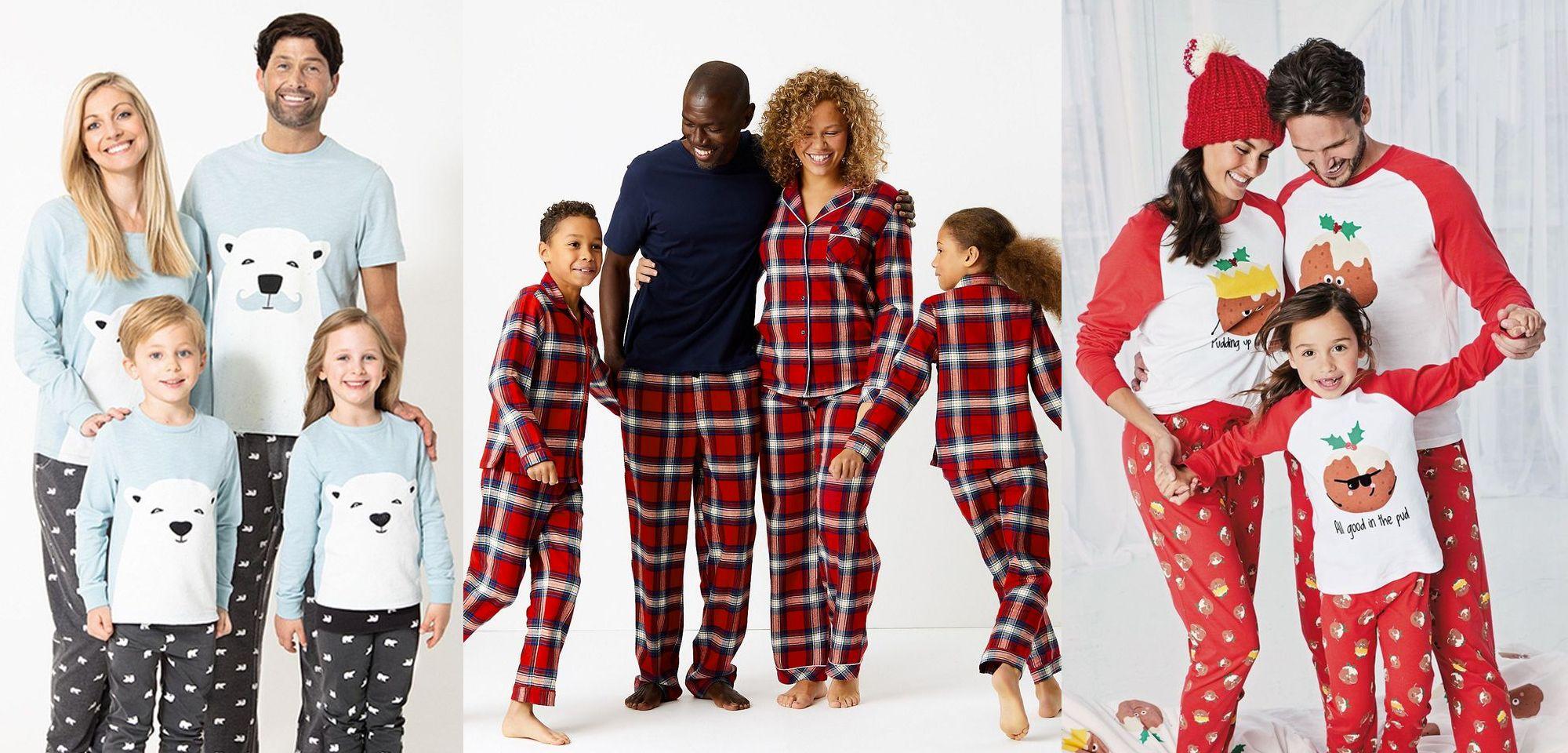 Official The Elf on The Shelf Family Long Pyjamas Christmas Matching PJs