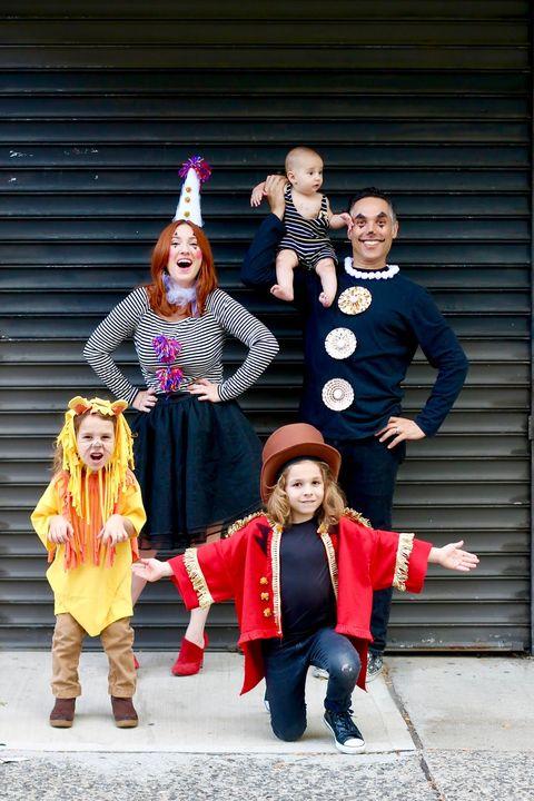 family circus halloween costumes