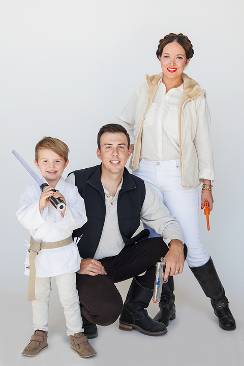 family costumes star wars