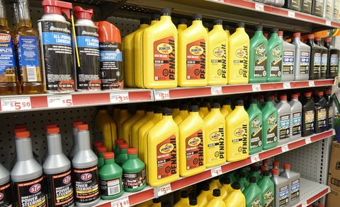 family dollar store, car products, power steering fluid, stp, pennzoil