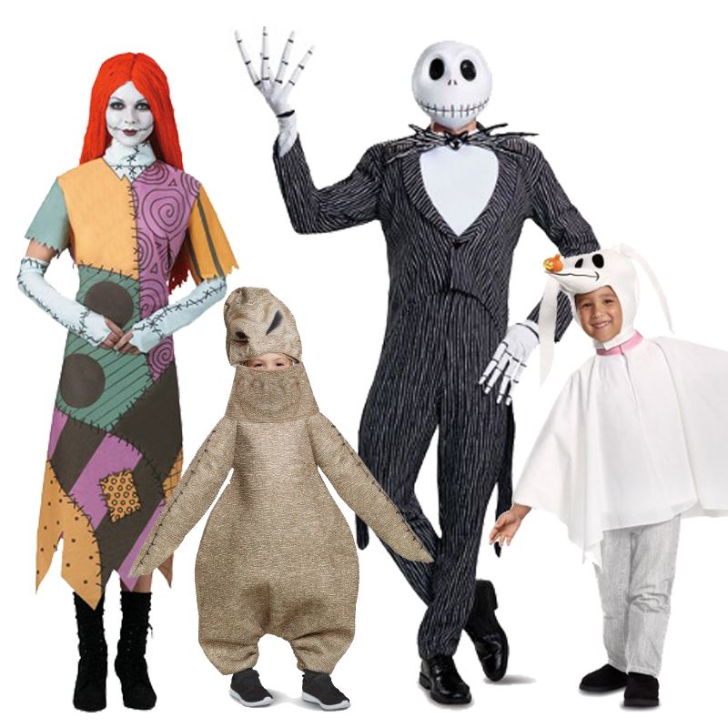 best christmas characters to dress up as family halloween costumes: addams family, flintstones