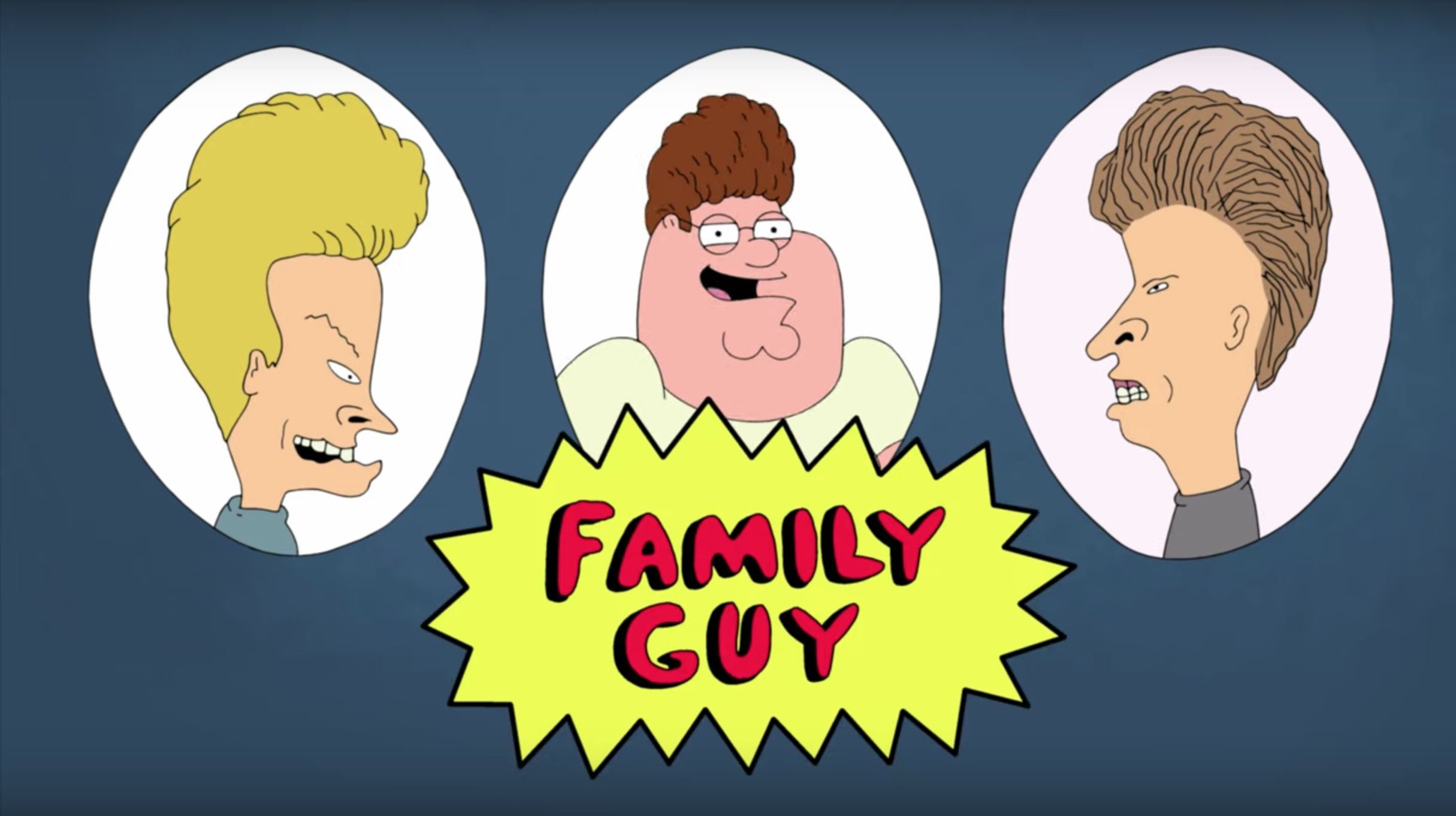 Family Guy season 18 first-look trailer reveals Beavis and Butt-Head crossover