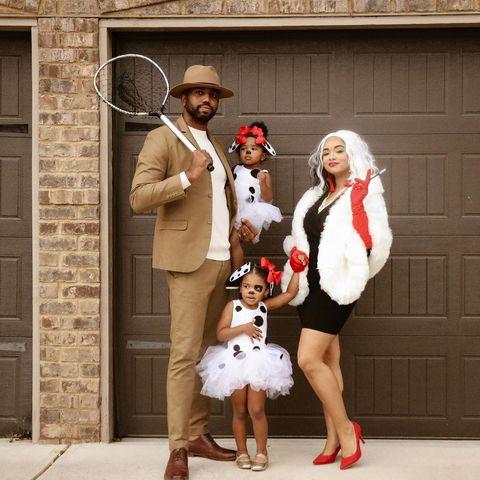 family costumes 101 dalmatians