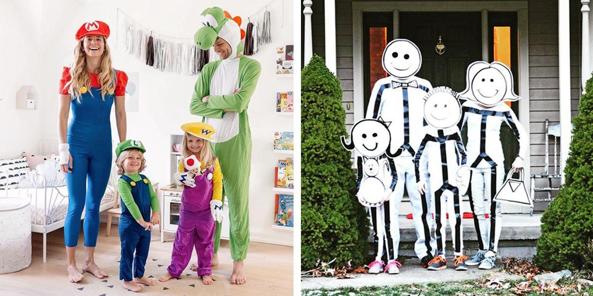 family Halloween costume ideas & 100+ Best Halloween Costumes of 2018 - Top Trending Costume Ideas ...