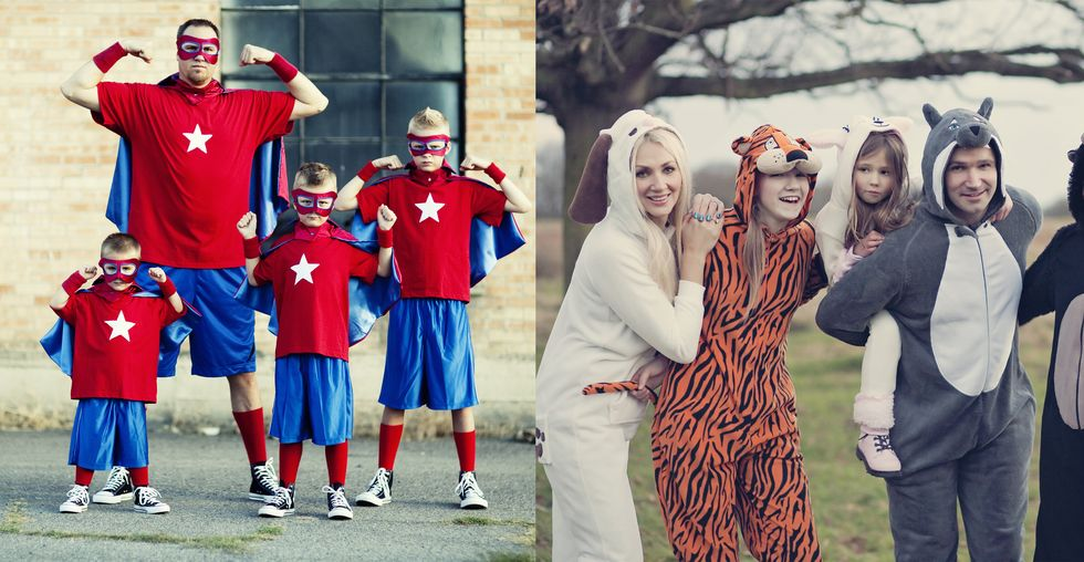 20 Family Halloween Costume Ideas That Will Make Everyone Go 'Aww'