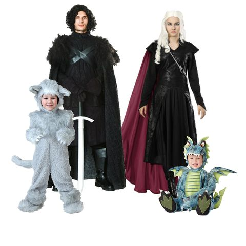 family halloween costumes - game of thrones