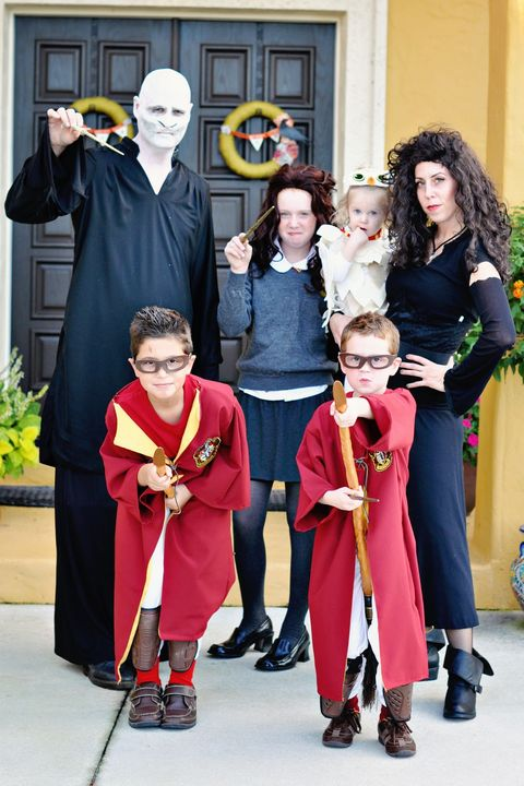 harry potter characters family halloween costumes