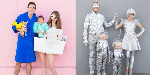 0380549bafd 40 Best Family Halloween Costumes 2018 - Cute Ideas for Themed ...