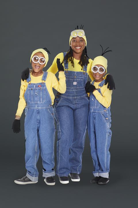 family halloween costumes minions