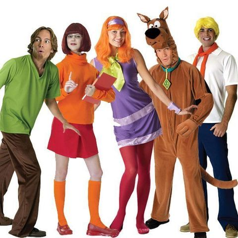 family halloween costumes scooby doo