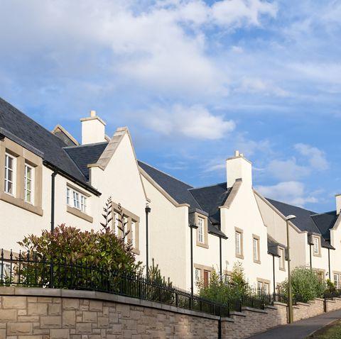 Family homes - modern British housing development