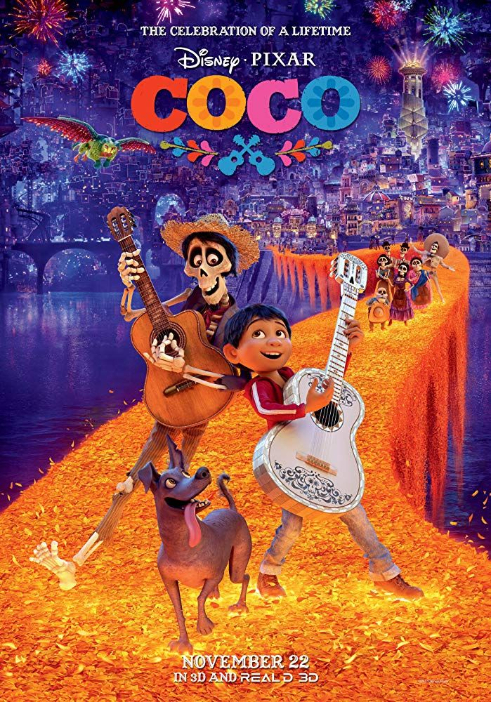 family Netflix movies -- Coco