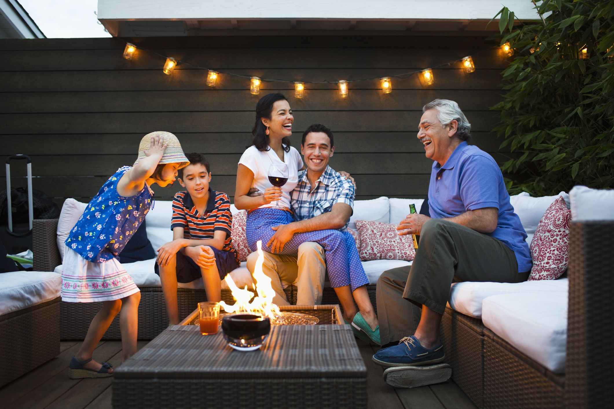 This Stylish $160 Fire Pit Is Now Only $82 at Walmart