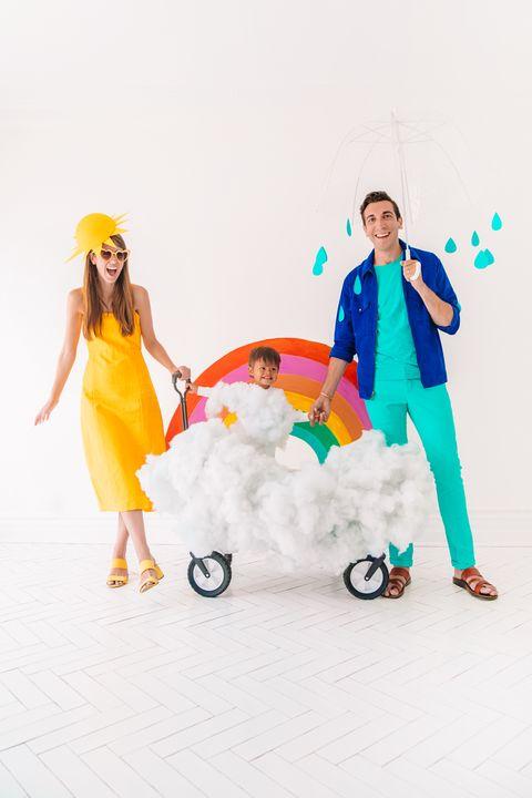 family weather costume studio diy