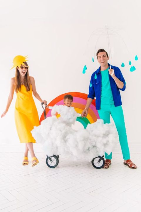 Family Halloween Costumes - Weather Costumes