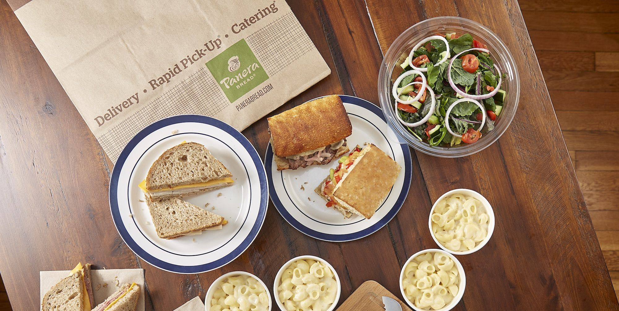 Panera Is Now Offering Family Feasts That Come With Mac & Cheese