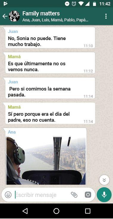 Los Grupos De Whatsapp Familiares El Veneno Entra En Casa