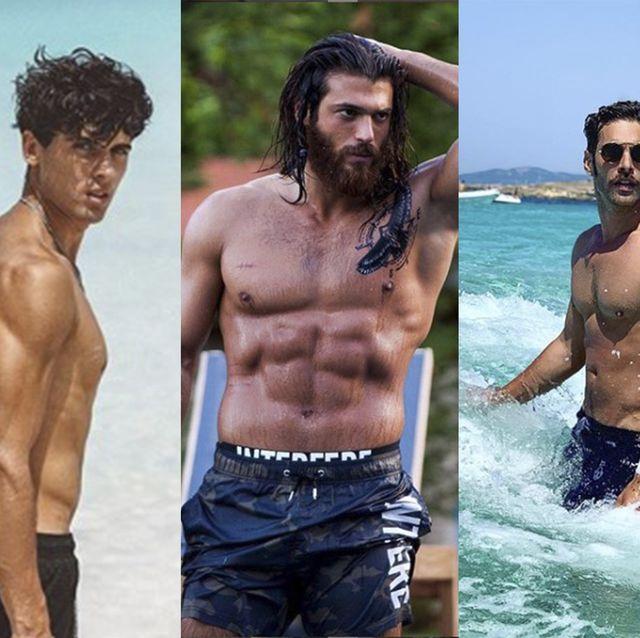 Famosos desnudos: Daniel Illescas, Can Yaman o Jon Kortajarena, entre los famosos más hot del verano 2019