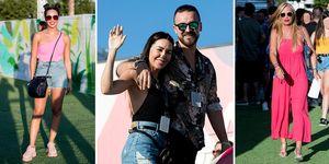 Cristina Pedroche, Vania Millán y Belén Esteban se divierten en el Mad Cool Festival