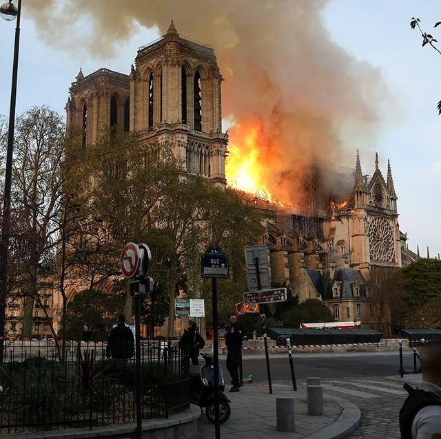 Los famosos reaccionan al incendio en la catedral de Notre Dame.