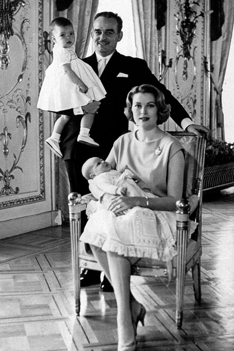 Famous Celebrity Engagement Rings - Grace Kelly and Prince Rainier III