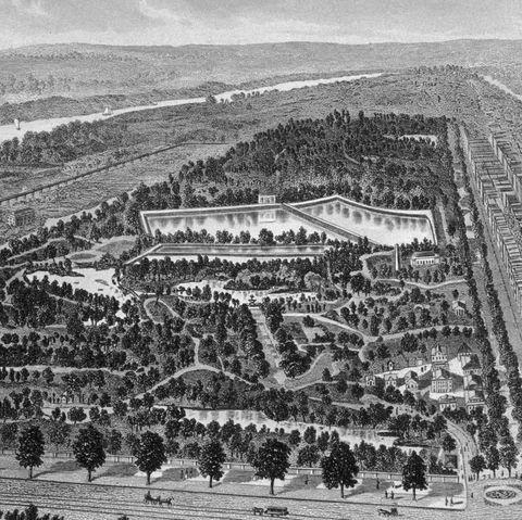 famous landmark photos centralpark then