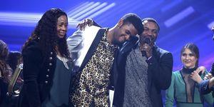 Famous ganador de OT y sus padres