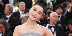 Fan Bingbing en Cannes en la premiere de 'Todos lo saben'
