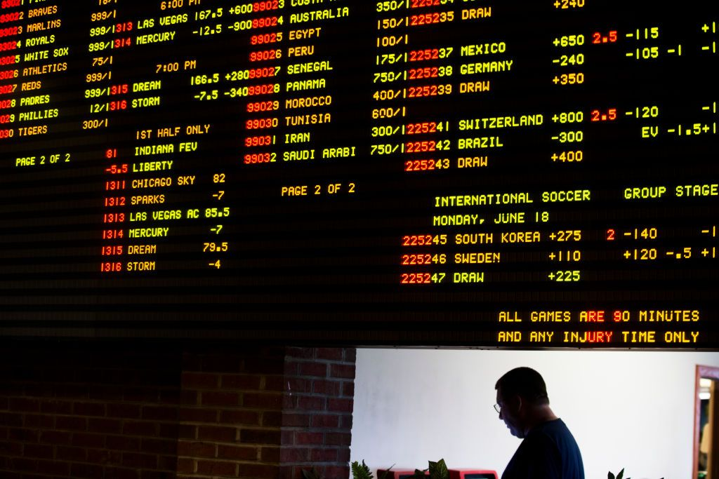 trackside betting rules