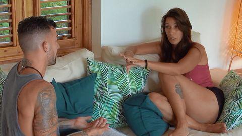 Fani y Rubén discuten en 'La isla de las tentaciones'