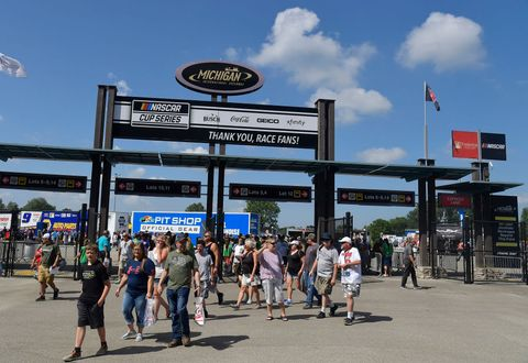 nascar cup series firekeepers casino 400 at michigan