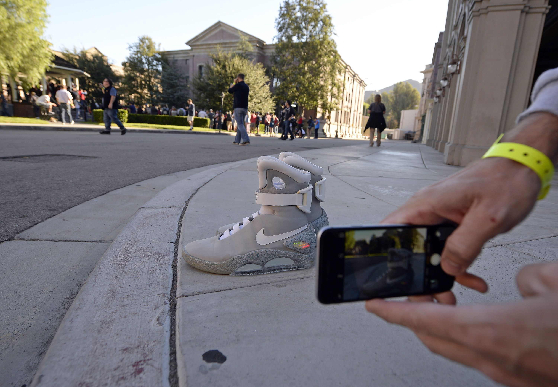 Las Nike de 'Regreso al futuro' a la venta (para millonarios