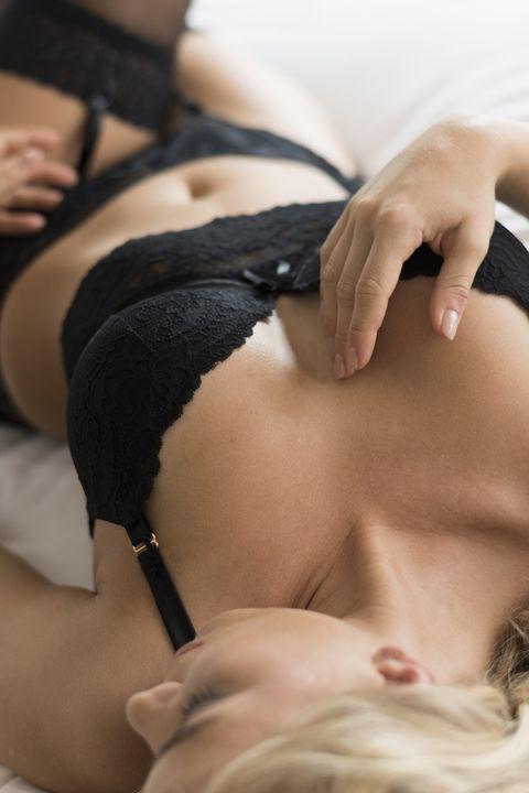 camera focus on bra