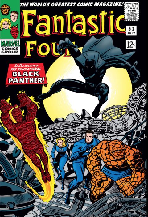 fantastic four 52 pantera negra