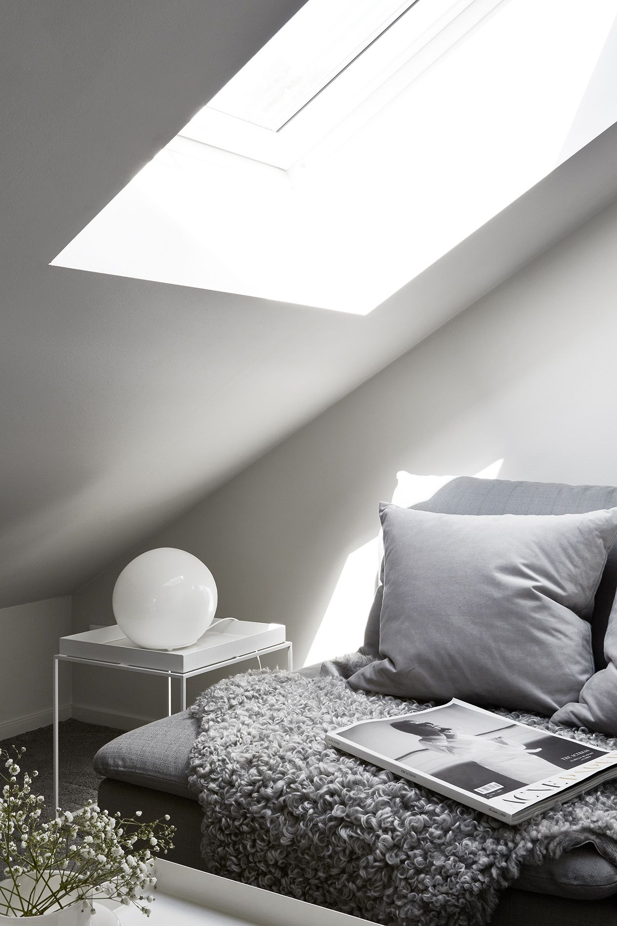 Image of: 16 Dreamy Attic Rooms Sloped Ceiling Design Ideas