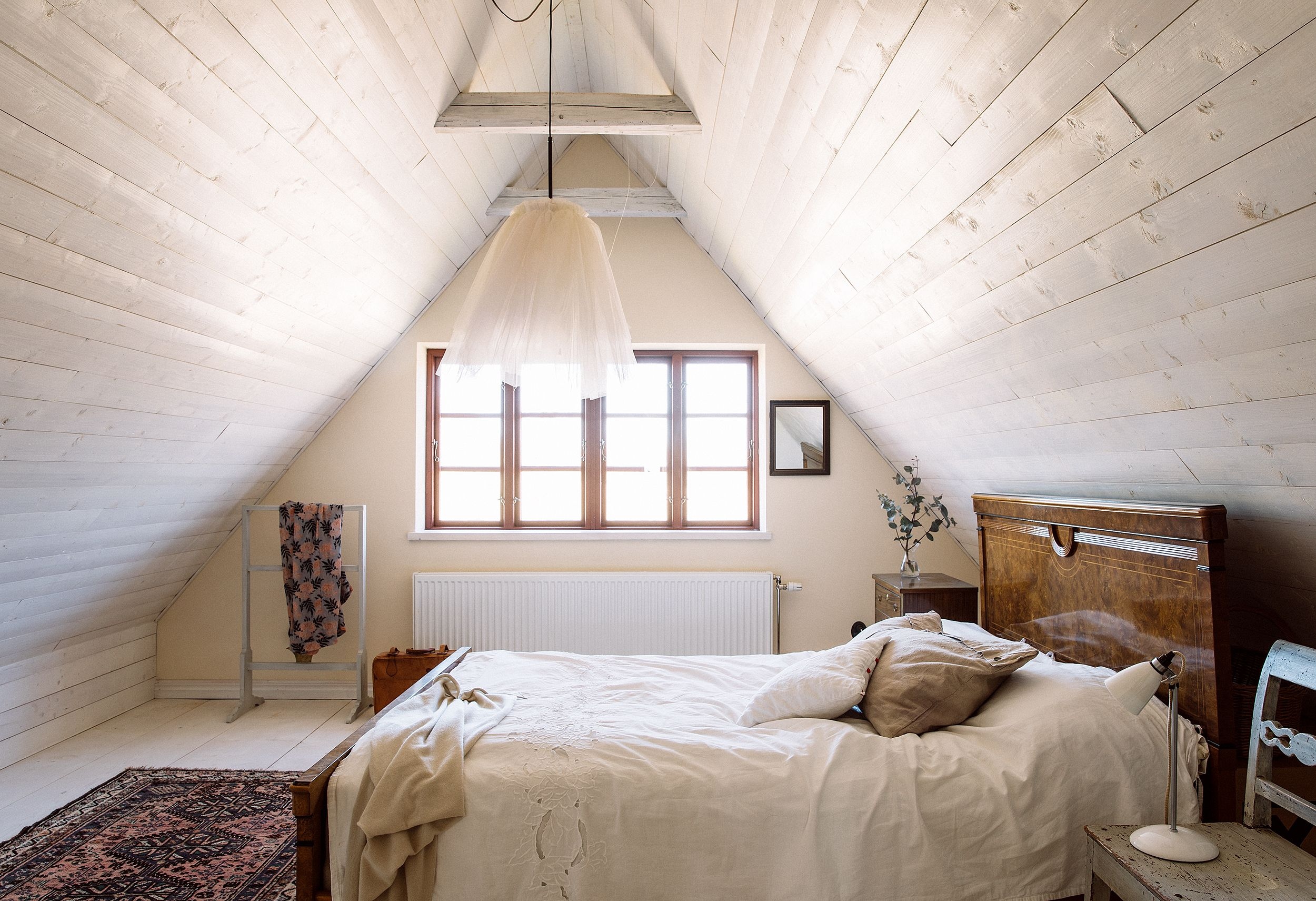 4 Dreamy Attic Rooms - Sloped Ceiling Design Ideas