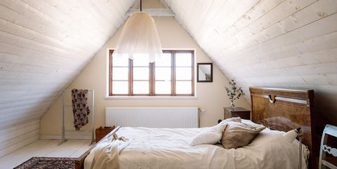 16 Dreamy Attic Rooms - Sloped Ceiling Design Ideas on attic flooring, toilet design, attic magazine, attic cabinets, attic electrical, attic showers, attic mold removal, attic antiques, attic beds, attic decor, attic ideas, attic windows, attic tiles, attic vapor barrier, attic kitchen, attic living room, square bedroom design, attic library, attic home, attic doors,