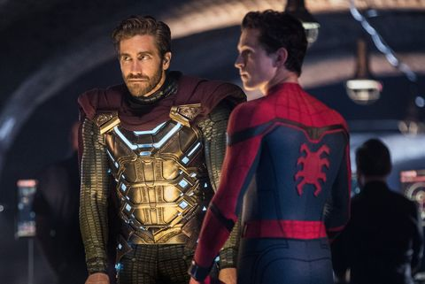 marvel sony spider man far from home