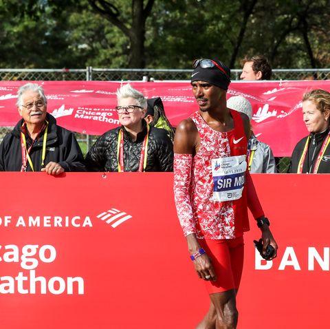 Mo Farah Chicago Marathon