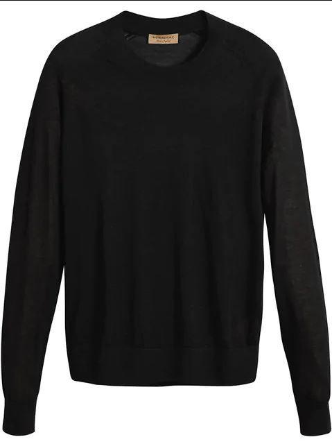Clothing, Black, Long-sleeved t-shirt, Sleeve, Sweater, T-shirt, Outerwear, Jersey, Top, Wool,